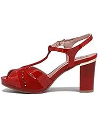 pitillos sandalia rojo 37