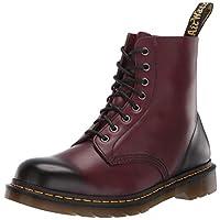 Dr. Martens Men's Pascal Antique Temperley Combat Boot, Cherry Red, 13 UK/14 M US