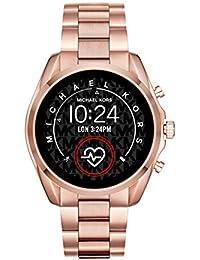 Michael Kors Smartwatch Pantalla táctil para Mujer de Connected con Correa en Acero Inoxidable MKT5086