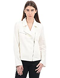Nautica Women Casual Jacket(_8907259445281_Sail White_Large_)
