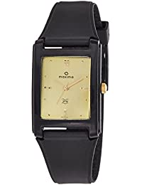 Maxima Analog Gold Dial Men's Watch-02446PPGW