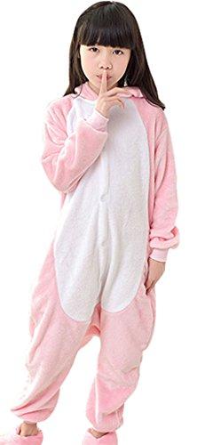 (KSFJV Animal Cosplay Kostüm Pyjama,Dinosaurier,115cm)