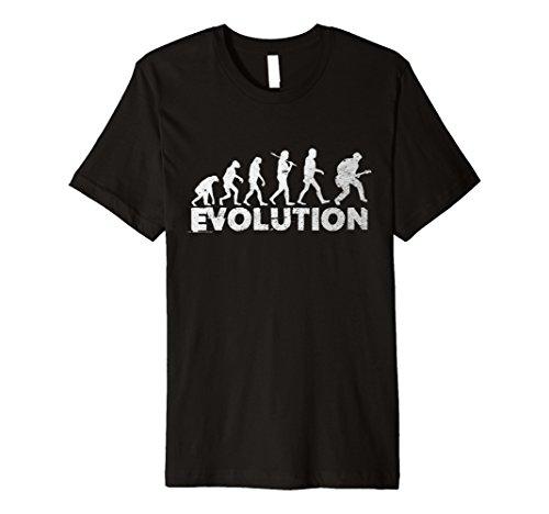 Gitarre Evolution Funny Musik Comedy T-Shirt