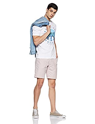 Aeropostale Men's Printed Regular Fit T-Shirt