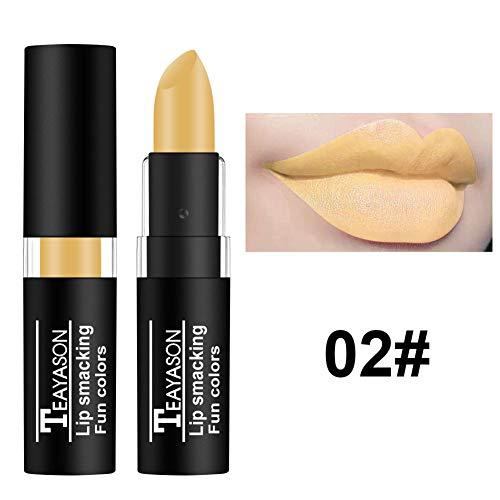 Lasting Waterproof Antihaft-Tasse Lippenstift Halloween Kreativer Lippenstift ()