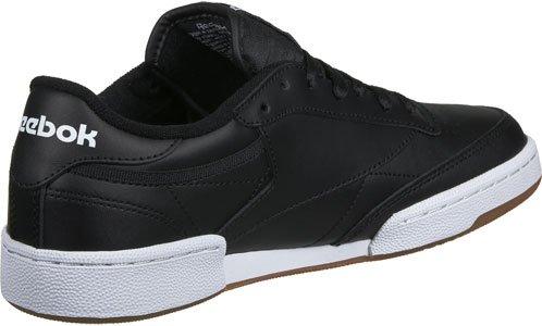Reebok Club C 85 Schuhe Schwarz Weiß