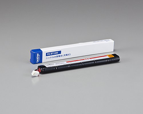 Brother PABT500 Aufladbare Batterie, NI-MH-Akku Schwarz
