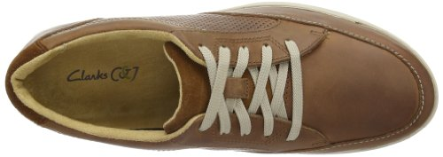 Clarks Stafford Park5, Chaussures de ville homme Marron (Tan Leather)