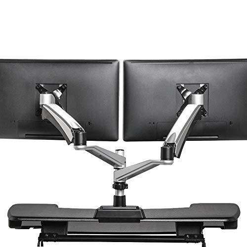 VARIDESK Monitorarm - Full-Motion Federarm Dual-Monitor (Stand Dual Arm Monitor)