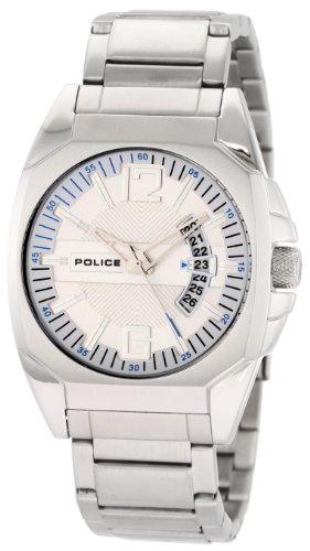 Police - P12897JS-02M - Montre Homme - Quartz Analogique - Bracelet Acier Inoxydable Argent