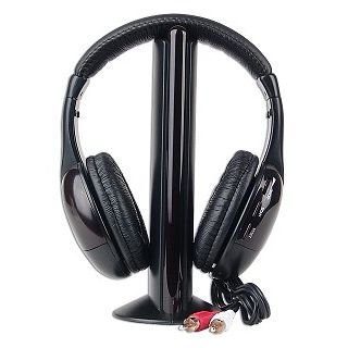 Technotech MH2001 5-In-1 Wireless Headphone (Black)