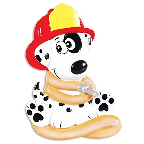 personalisierbar Weihnachtsschmuck occupation-firehouse Dalmatiner - DO-IT-YOURSELF (Dalmatiner Kit)