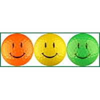 Smiley Face Optic Colors Golf Ball Gift Set by EnjoyLife Inc