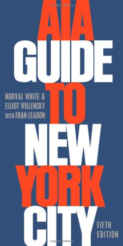 AIA Guide to New York City par Norval White