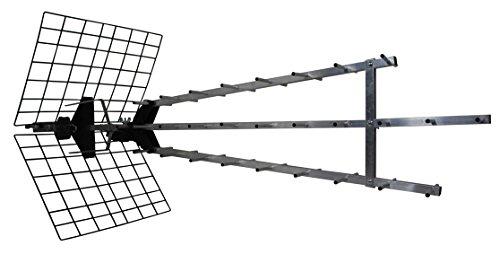 Metronic 415049 Antenne UHF extérieure pour TNT/Télévision Gris