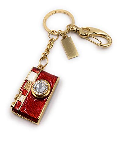 H-Customs Kamera Cam Kristall Linse Rot Gold USB Stick 64 GB USB 2.0