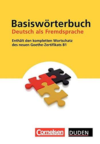 Basiswörterbuch. Deutsch als Fremdsprache (Duden) por Aa.Vv