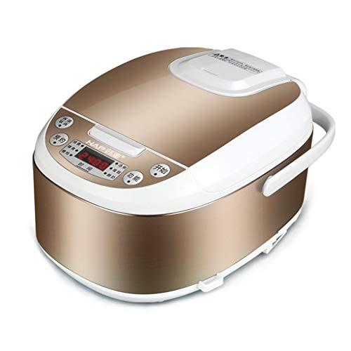 Mysida 3-Liter-Smart-Multifunktions-8-in-1-One-Touch-Antihaft-Reiskocher, Slow Stew Pot Suppe Brei Kuchen Joghurt Machen (Farbe : Gold)