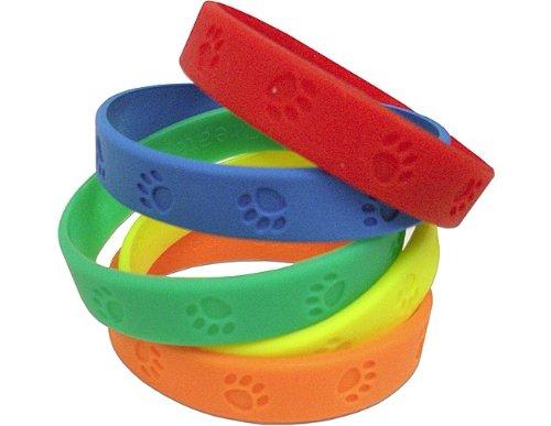 ourcen Paw Prints Armbänder, Multi Farbe (6552) (Paw Print-armband)