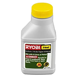Ryobi ACC025 75 ml Two Stroke Oil for all Two Stroke Products