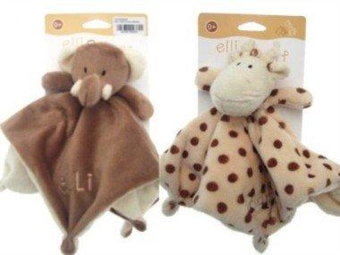 Elli & Raff Comfort Blankets (Pair)