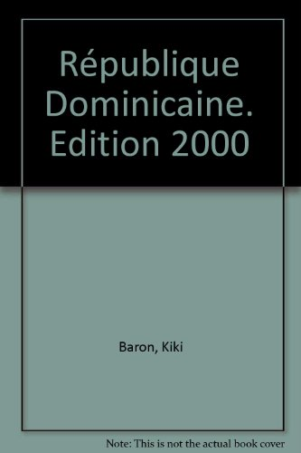 République Dominicaine. Edition 2000