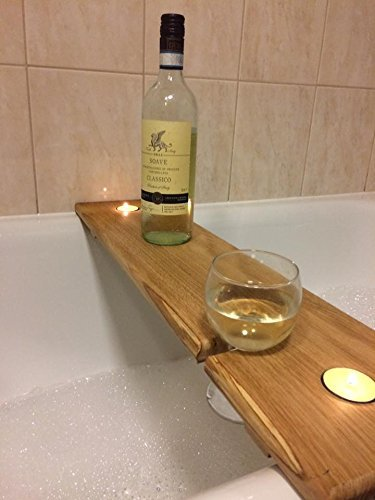 solids-hardwood-bath-caddy-with-wine-glass-slot-and-tealight-holder