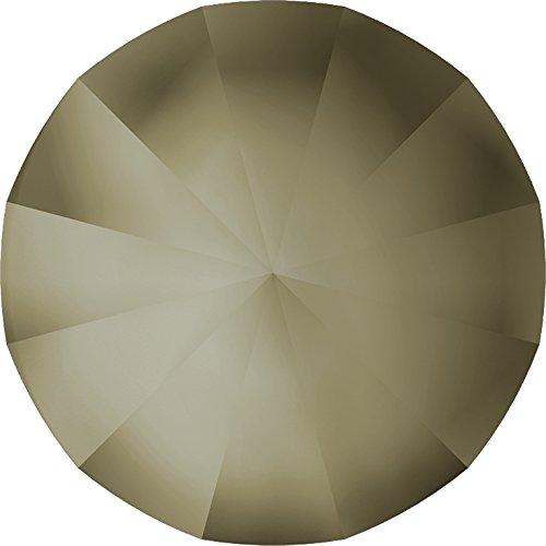 Swarovski Kristalle 1179177 Runde Steine 1480 PP 21 Crystal CHROM'V' MATT Finished F, 1440 Stück - Chrom Swarovski Strass Crystal