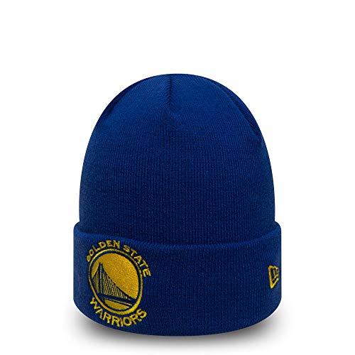 4c255ace8c0 New Era NBA GOLDEN STATE WARRIORS Team Essential Cuff Beanie Knit
