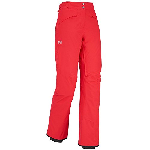 Millet–Skihose/Snow 2Schichten LD Cypress Mountain Hibiskus Damen–Damen–Rot, rot