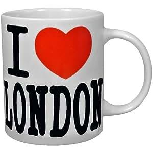 Londres -Mug Tasse à Café I Love London Souvenir Chic City Londres 350Ml