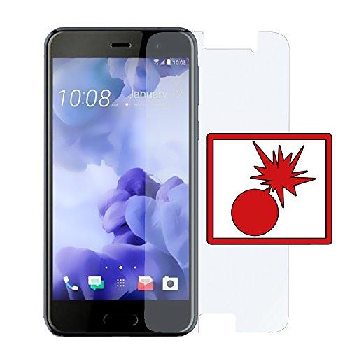 Slabo 2 x Panzerschutzfolie für HTC U Play Panzerfolie Bildschirmschutzfolie Schutzfolie Folie Shockproof KLAR