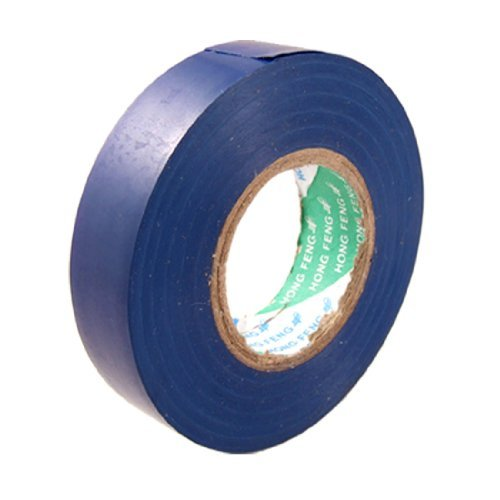 Royal Blue Tape (Amico PVC draad isolatie splicing tape zelfklevend, 16m lengte x 17mm breedte, Royal Blue)