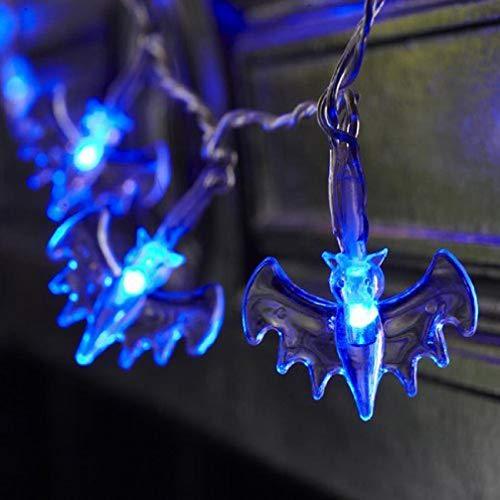 Y56 Halloween Vampir Zähne Rollenspiele Vampirzähne Zahnersatz Gebiss Kostüm Requisiten Party Favors (Blau) (Für Halloween-kostüm Sound-effekte)