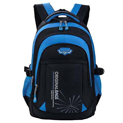 Zaini scuola,coofit zaini scuola bambino elementare borsa zaino zainetto zaini scolastici zaino backpack zaini per bambini ragazza ragazzo (coofit blu)
