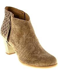 Felmini Chaussures Femme - Tomber en Amour avec Grace B116 - Sabots à Talons - Cuir Véritable 36 EU Size