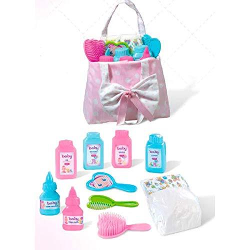 Rosa Toys- Bolsito de Aseo para muñecas Completo