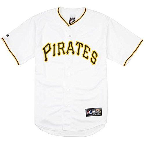 majestic MLB M67 REPLICA JERSEY PIRATES gelb/weiß