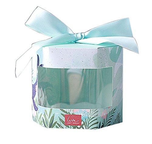 AUTULET frisches Brautjungfer Geschenk-Box elegant Süßigkeiten Verpackung Schokolade Geschenke Kästen für süße Hochzeit 10 Stück (Bonbons oder Pralinen nicht enthalten)
