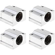 WINGONEER 4pcs SCS12UU Linear Motion Ball Bearing CNC Slide Bushing 36mm Length