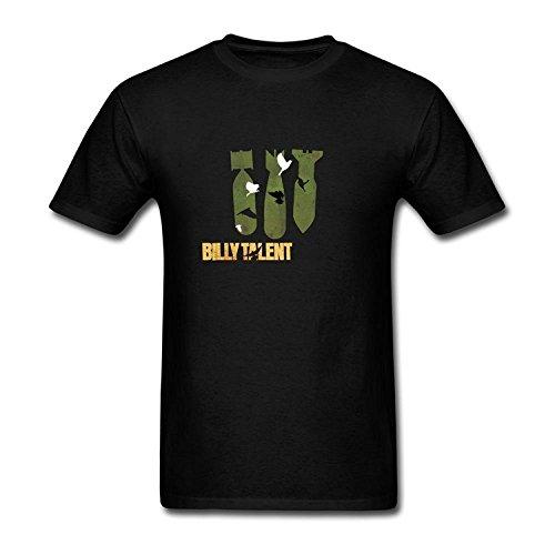 Men's Billy Talent Tour Logo T-Shirt S ColorName Short Sleeve Medium