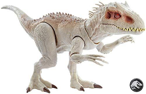 Jurassic World- Indominus Rex Dinosauro con Luci e Suoni, Giocattolo per Bambini 4 + Anni, GCT95