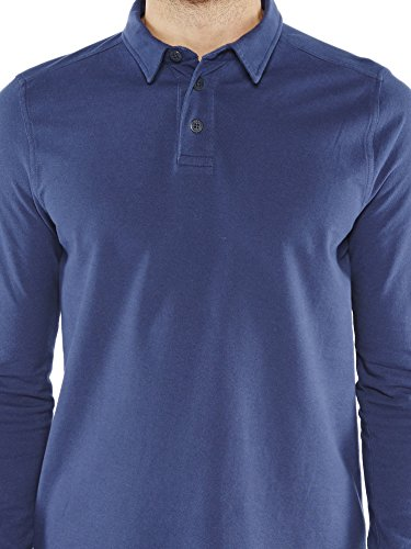 Colorado Denim Herren Poloshirt Stephen Blau (NIGHTSHADOW 6073)