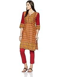 Juniper Fashion Women's Straight Kurta - B01HJLVXDU