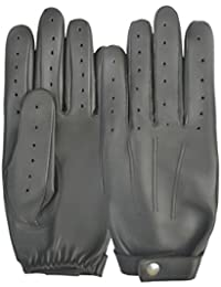 Mens Winter Classic Slim Chauffeur Driving Gloves Soft Comfort Real Quality Genuine Leather