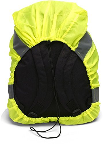 Imagen de chaleco reflectante/protección para la lluvia para  con reflector rayas, incluye cordón alternativa