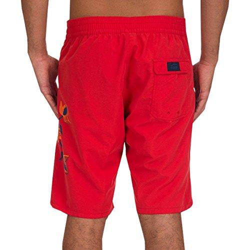 Short de Bain 1/2 elastique Line Rubis Rouge