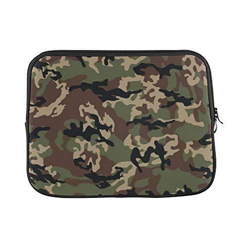 QuqUshop Design Benutzerdefinierte Modische Camouflage Millatry Druckhülse Weiche Laptop Tasche Tasche Haut Für MacBook Air 11