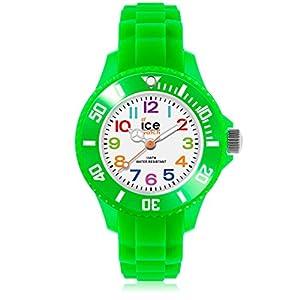 Ice-Watch – Ice Mini Green – Grüne Jungenuhr mit Silikonarmband – 000746 (Extra small)