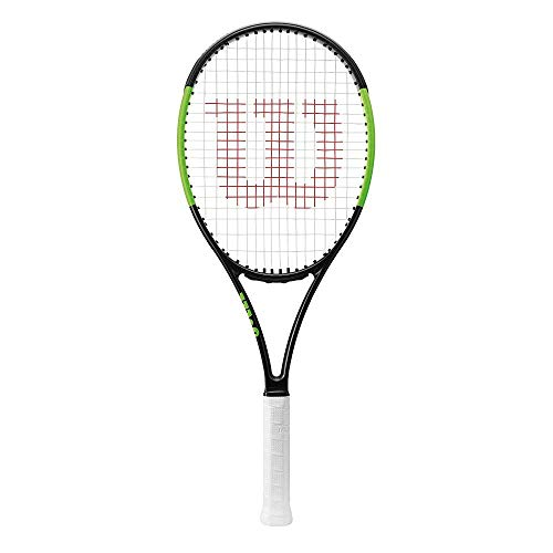 Wilson Blade 101L, Performance Racket Unisex – Adulto, Nero Velvet/Electric Lime, 2